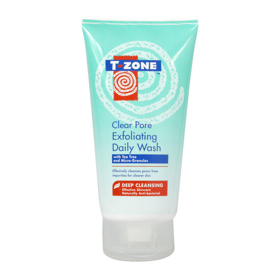 T Zone Clear Pore Exfoliating Daily Wash 150ml, , large