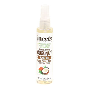 Inecto Naturals Coconut Hair Oil 100ml, , large