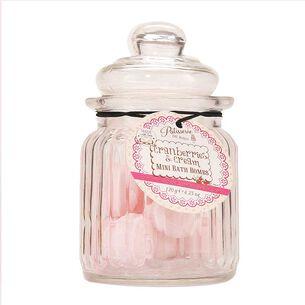 Rose & Co Patisserie de Bain Mini Bath Bombs Cranberries, , large