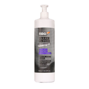 Fudge Clean Blonde Violet Toning Conditioner 1 Litre, , large