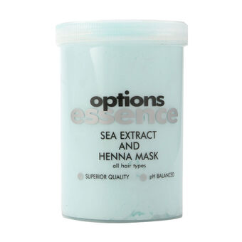Options Essence Sea Extract and Henna Mask 1000ml, , large