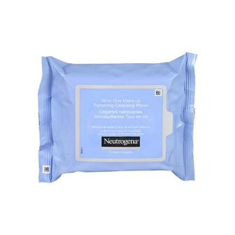 Neutrogena All In One Make Up Removing Cleansing Wipes x 25, , large