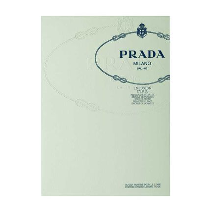 Prada Infusion D'Iris Scented  Note Paper, , large