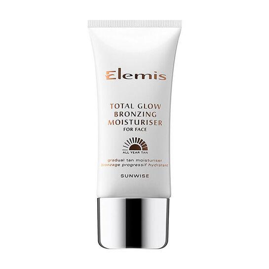 Elemis Total Glow Bronzing Moisturiser For Face 50ml, , large