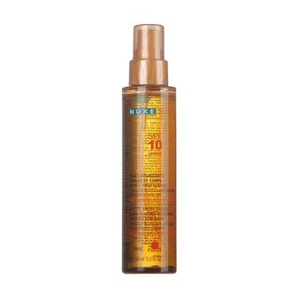 NUXE Sun Tanning Oil For Face And Body SPF10 150ml, , large