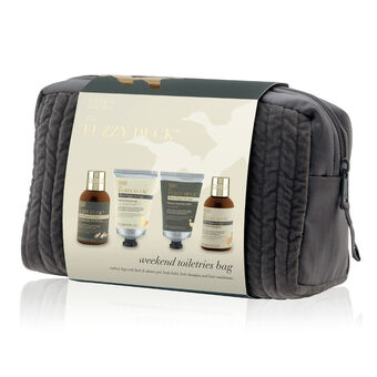 Baylis & Harding Fuzzy Duck Pepper & Sage 4 Piece Wash Bag, , large