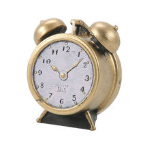 Levin Brothers Small Clock Candle Gold, , large