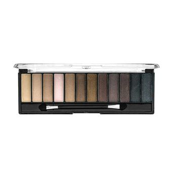 Technic Mega Nudes Shadow Palette 12 x1.2g, , large