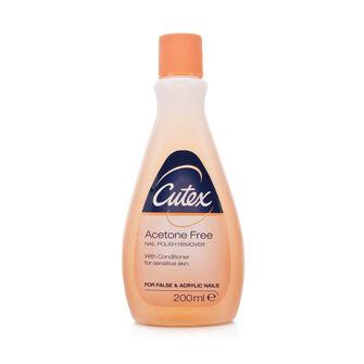Cutex Acetone Free Nail Polish Remover 200ml, , large