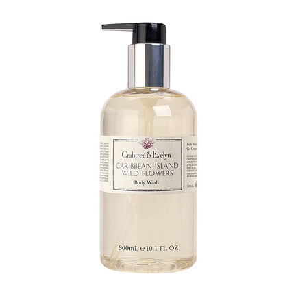 Crabtree & Evelyn Caribbean Island Wild Flower Body Wash, , large