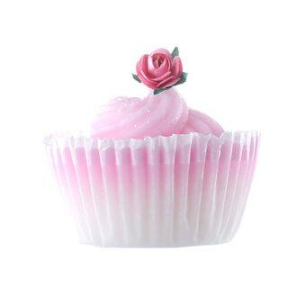 Rose & Co Patisserie de Bain Rose Cupcake Soap 120g, , large