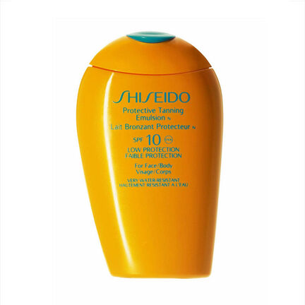 Shiseido Protective Tanning Emulsion SPF10 150ml, , large
