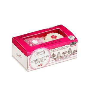 Rose & Co Patisserie de Bain Bath Tartlettes Cranberries, , large