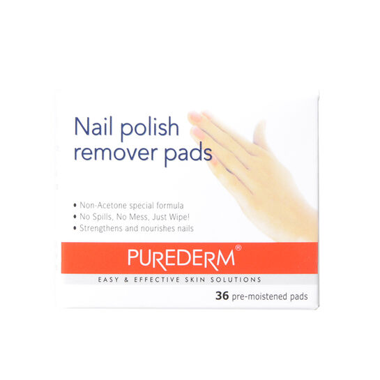 Purederm Nail Polish Remover Pads 36 Pcs, , large
