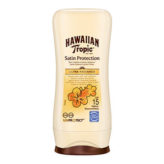 Hawaiian Tropic Satin Protection Sun Lotion SPF 15 100ml, , large