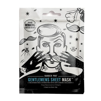 BARBER PRO Gentlemens Sheet Mask Rejuvenating & Hydrating, , large