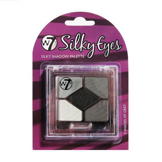 W7 Silky Eyes Shadow Palette 4.5g, , large