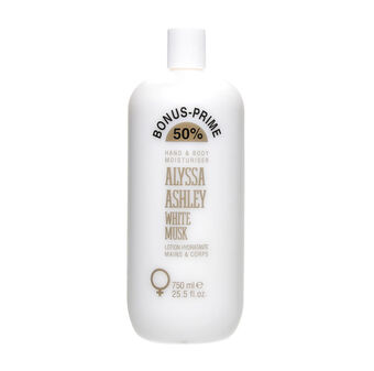 Alyssa Ashley White Musk Moisturising Body Lotion 750ml, , large