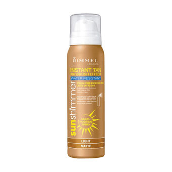 Rimmer Sun Shimmer Instant Tan Air Brush Effect 100ml, , large
