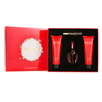 Creative Colours Red Hot Pour Femme 100ml Gift Set, , large
