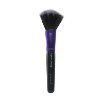 Brush Works Purple & Black Powder Brush, , large