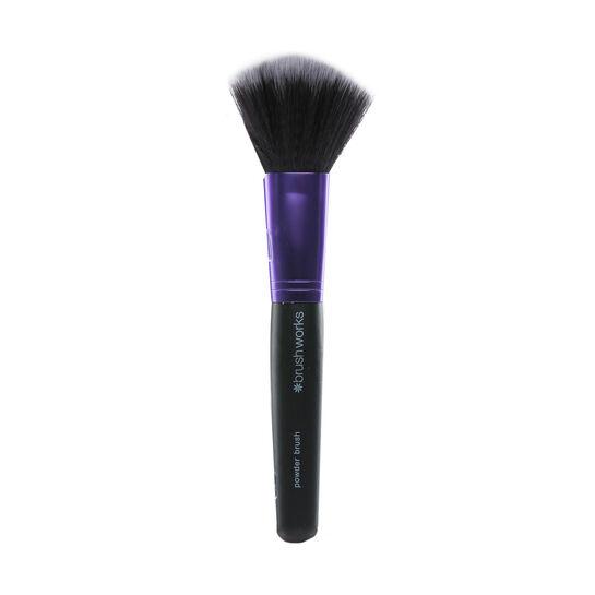 Brush Works Purple & Black Powder Brush, , large