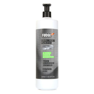 Fudge Cool Mint Purify Shampoo 1 Litre, , large