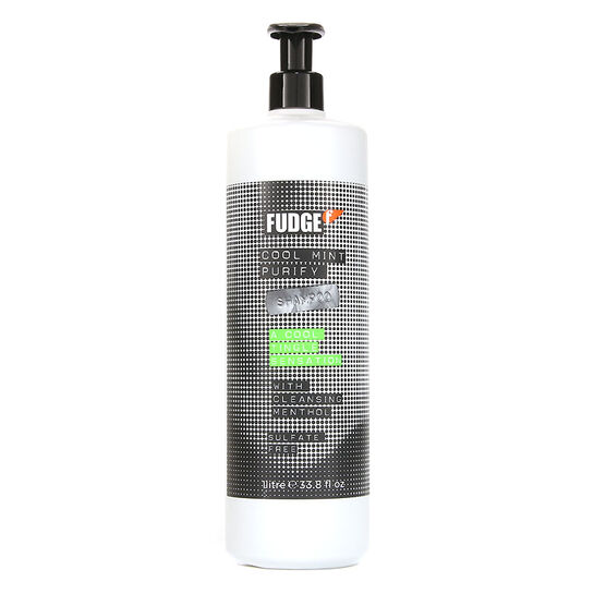 Fudge Cool Mint Purify Shampoo 1 Litre, , large