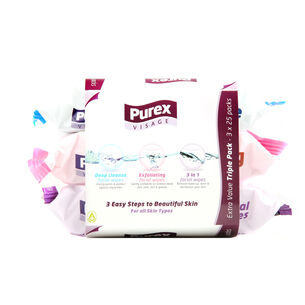 Purex Face Wipes 3 pack, , large