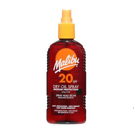 Malibu Sun Dry Oil Spray SPF20 200ml, , large