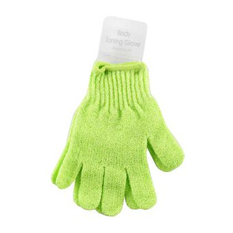 Opal Crafts Exfoliating Gloves Lime Green, , large