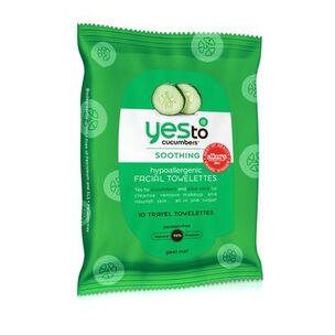 Yes To Cucumber Wipes Hypo Allergenic 10wipes, , large