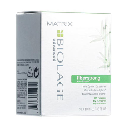 Matrix Biolage Fiberstrong Intra Cylane Concentrate 10 x10ml, , large