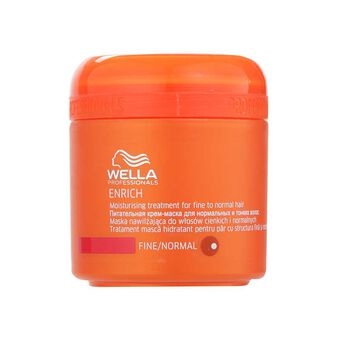 Wella Enrich Moisturising Treatment Fine Normal Hair 150ml, , large