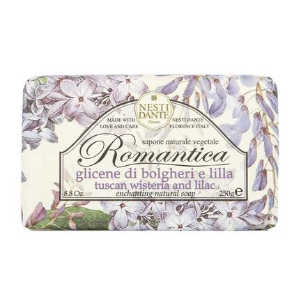 Nesti Dante Romantica Wisteria and Lilac Soap 250g, , large