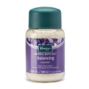 Kneipp Mineral Bath Salt Balancing Lavender 500g, , large