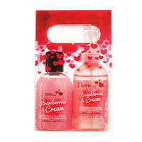 I Love Delicous Duo Pack Strawberries & Cream, , large