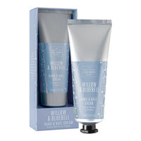 Scottish Fine Soaps Willow & Bluebell Hand & Nail Cream 75ml, , large