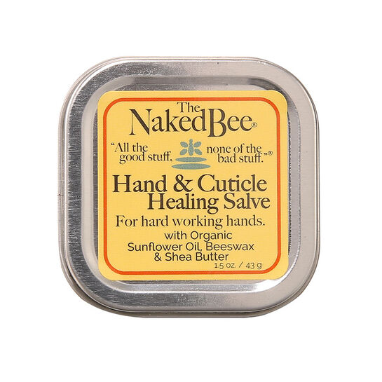 The Naked Bee Hand & Cuticle Healing Salve 43g, , large
