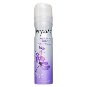 Impulse Romantic Spark Body Spray 75ml, , large