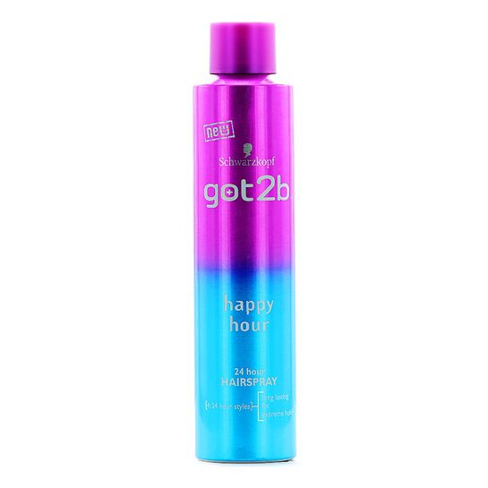 Schwarzkopf Got2b Happy Hour 24 Hour Hairspray 300ml, , large