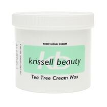 Krissell Beauty Tea Tree Cream Wax 425g, , large