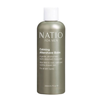 Natio For Men Calming Aftershave Balm 200ml, , large