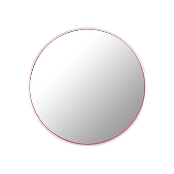 The Vintage Cosmetic Company 10 X Magnifying Mirror Pink, , large