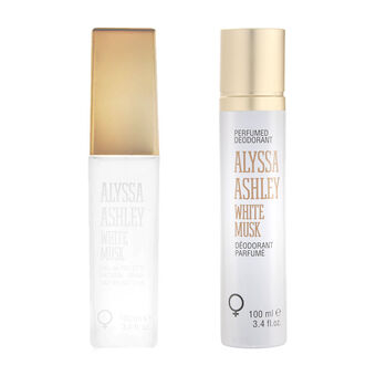 Alyssa Ashley White Musk Eau de Toilette + Deodorant 100ml, , large