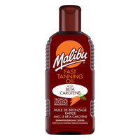 Malibu Fast Tanning Oil 200ml, , large