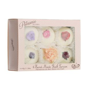 Rose & Co Patisserie de Bain Cupcake Bath Melts 6 Pack, , large
