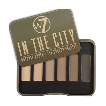 W7 In The City Natural Nudes Eye Palette, , large