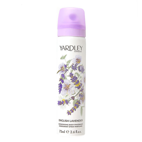 Yardley English Lavender Deodorising Body Fragrance 75ml, , large