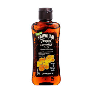 Hawaiian Tropic Protective Mini Oil 100ml SPF 15, , large